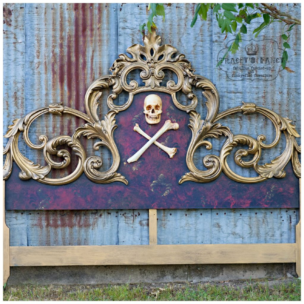 Gold Pirate Bed Before | Tracey's Fancy