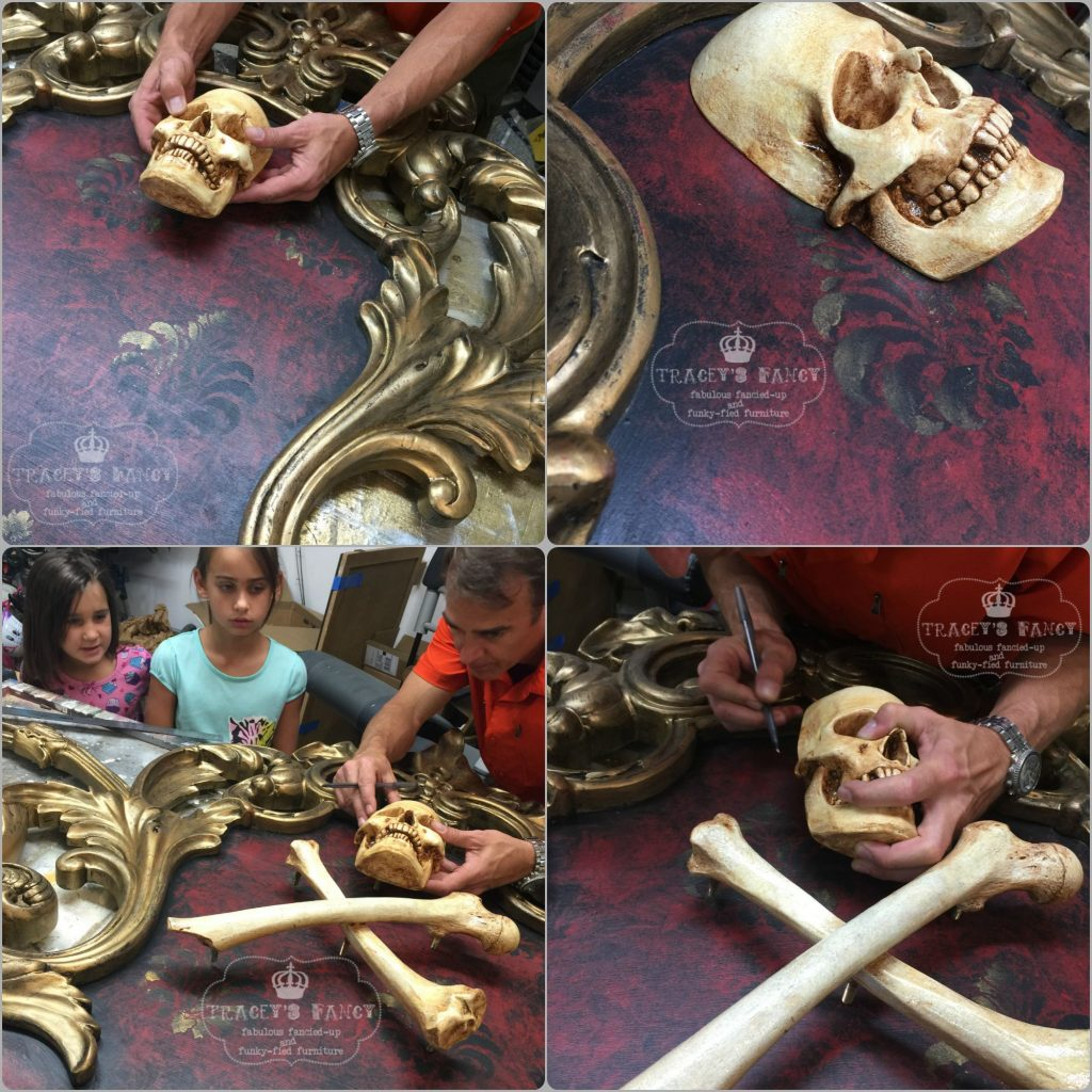 Gold Pirate Bed Skull and Bones | Tracey's Fancy