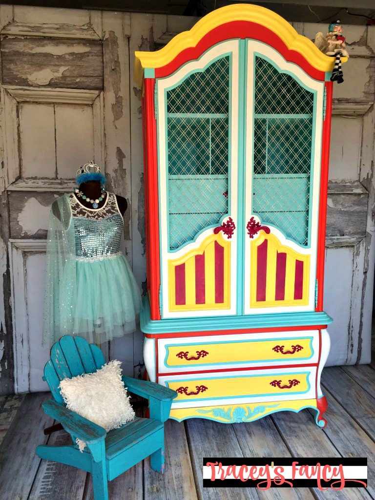 Circus Armoire | Tracey's Fancy