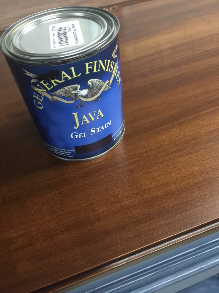 White Lime Spray Wax Java Gel Stain | Tracey's Fancy