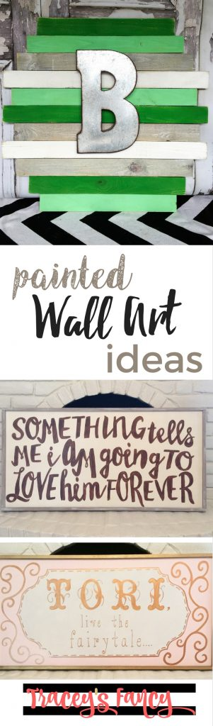 Painted Wall Art Ideas | Tracey's Fancy