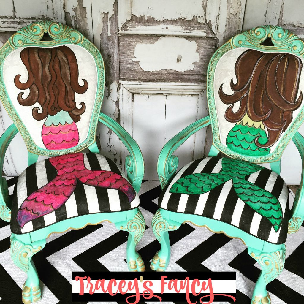 Mermaid Chair | Tracey's Fancy