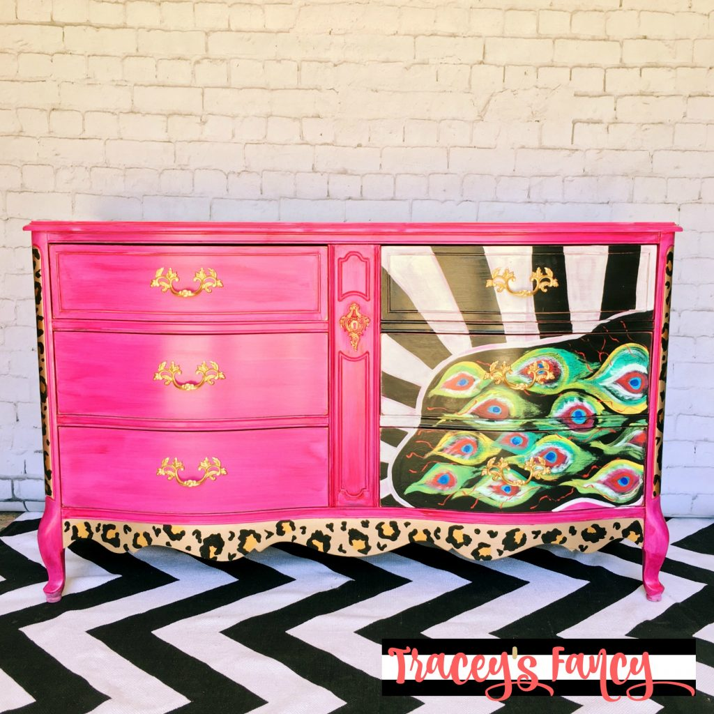 Peacock Dresser | Tracey's Fancy