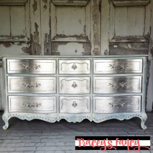 Metallic Silver Dresser | Tracey's Fancy