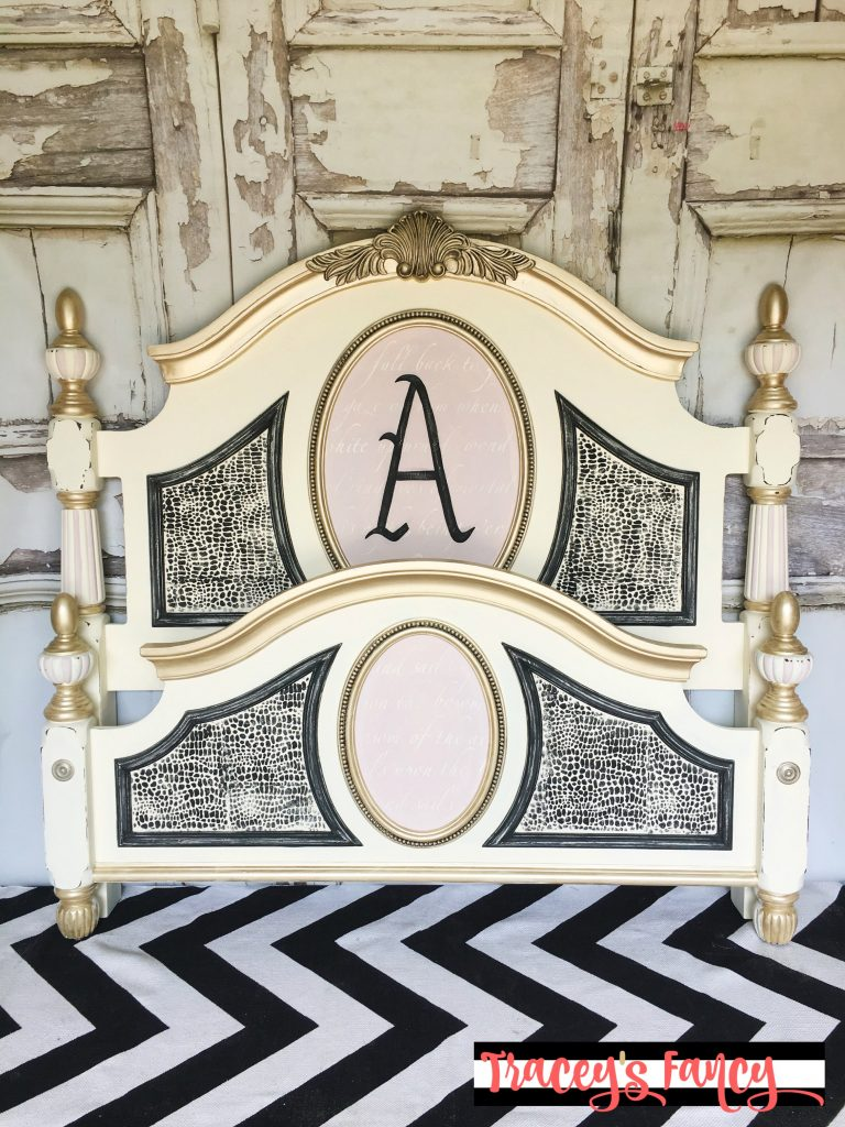 """A"" Painted Bed for a Princess"