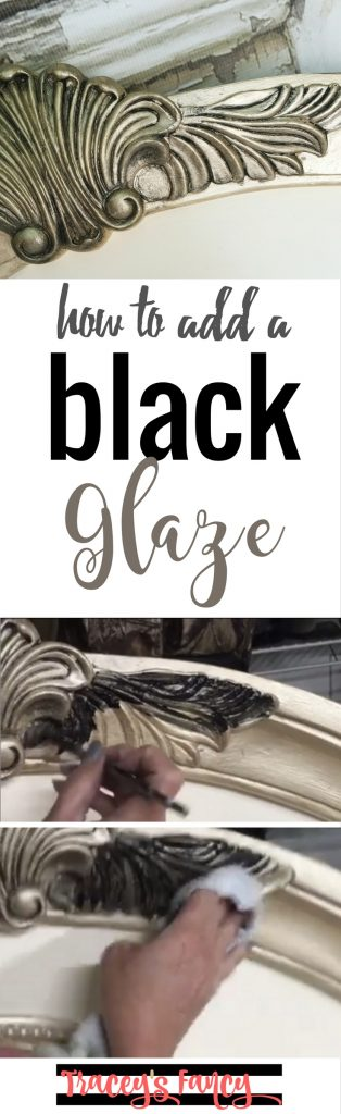 Painting Tip Black Glaze   Tracey's Fancy