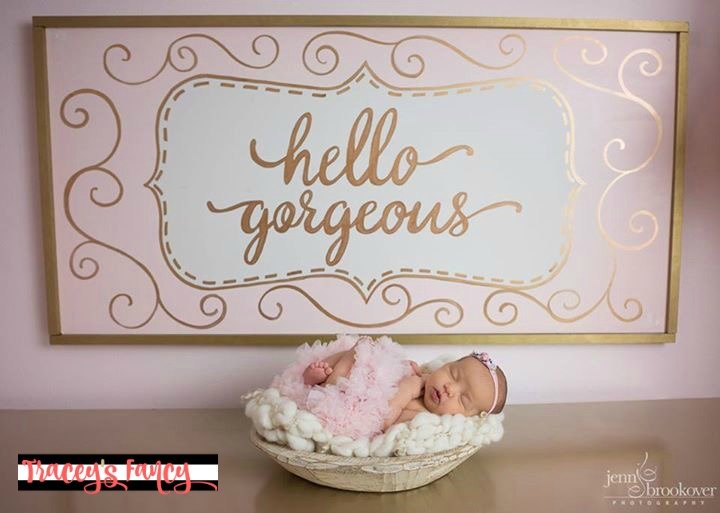 Gorgeous Pink and Gold Nursery | Tracey's Fancy