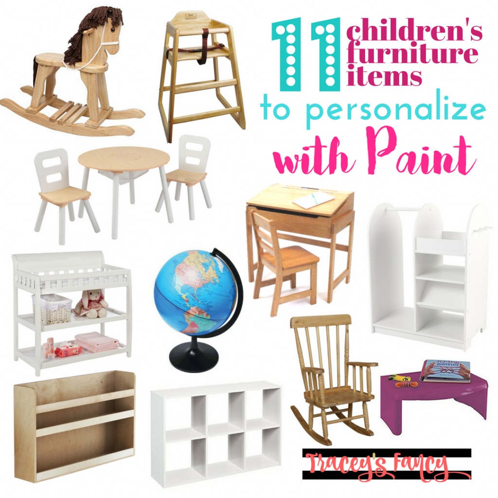 11 Children's Furniture Items and Things to Paint