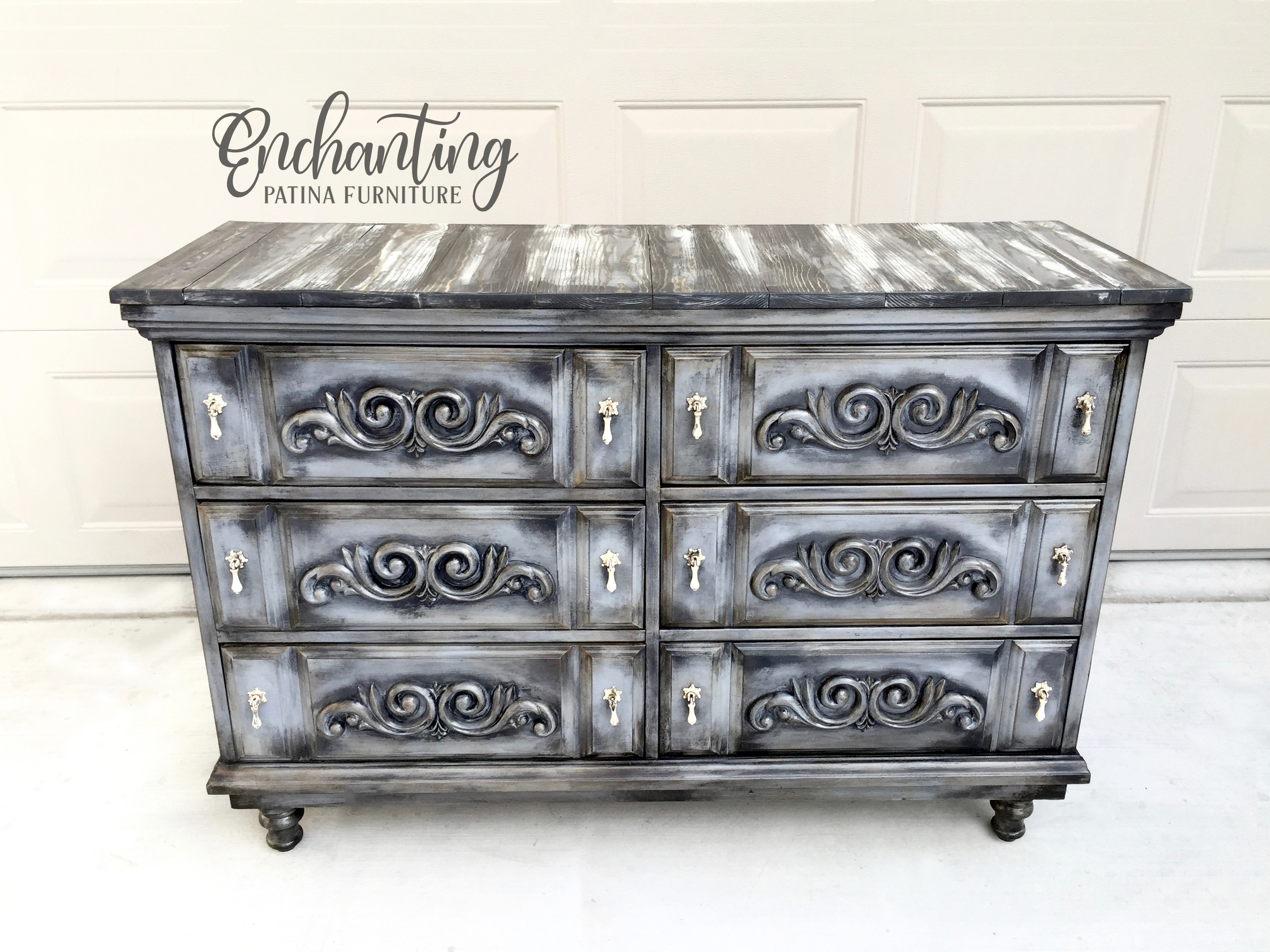 Black and White Furniture Ideas - Enchanting Patina