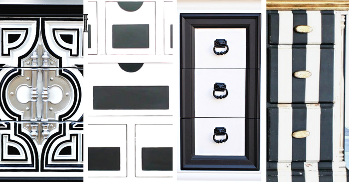 Top Ten Black and White Painted Furniture Ideas