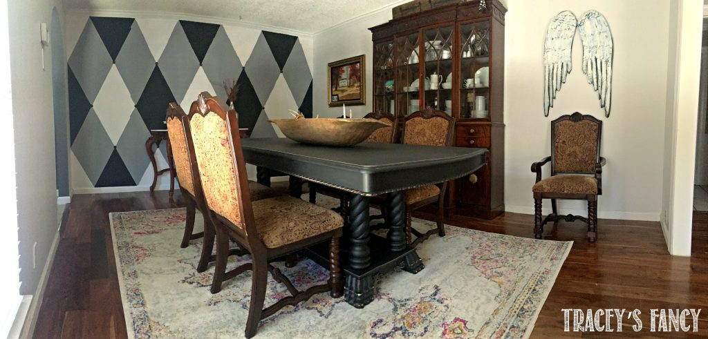 Tracey's Fancy Dining Room Makeover
