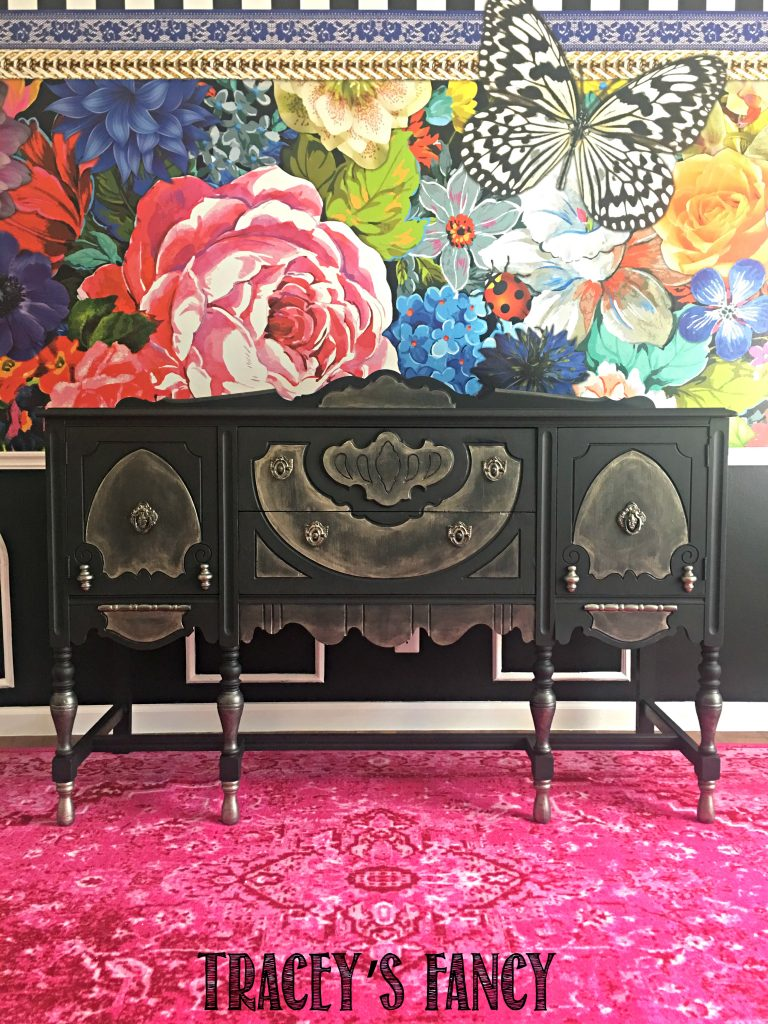 Painted Antique Buffet Tracey's Fancy