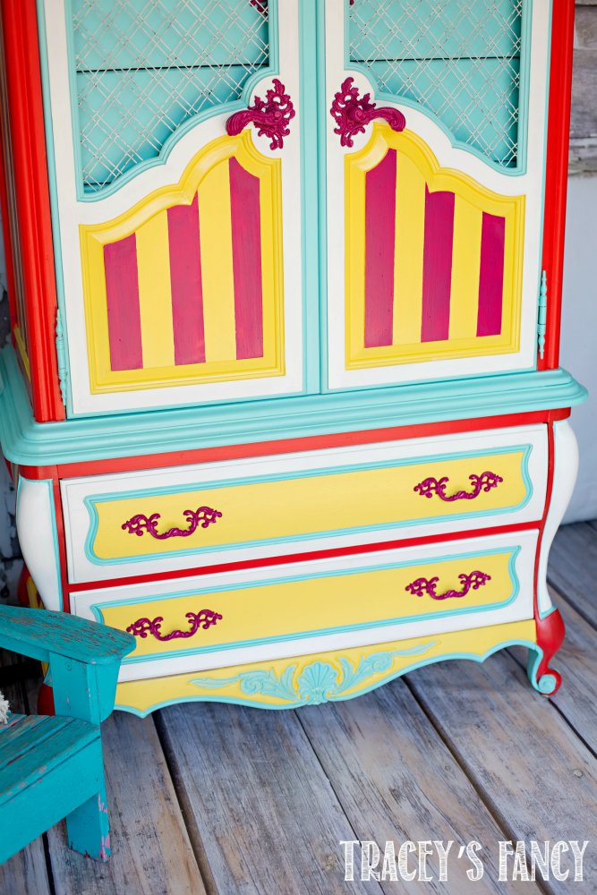Whimsical Circus Armoire | Tracey's Fancy