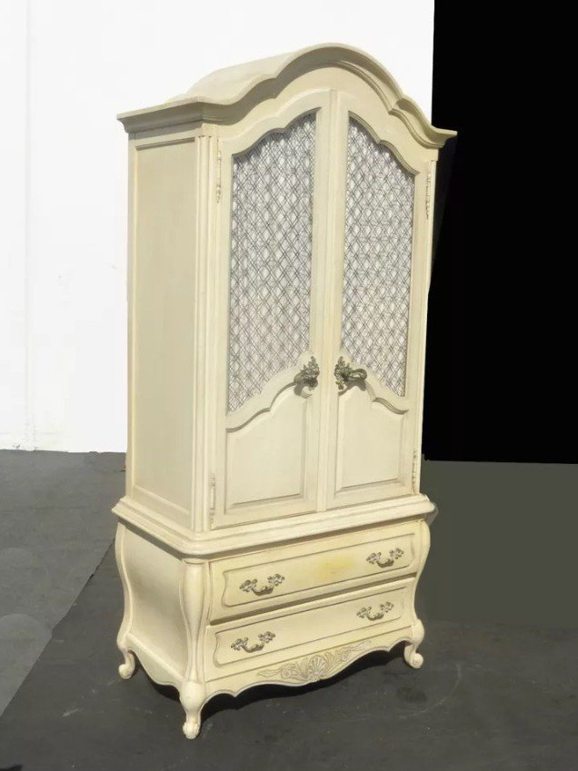 Circus Armoire Before   Tracey's Fancy