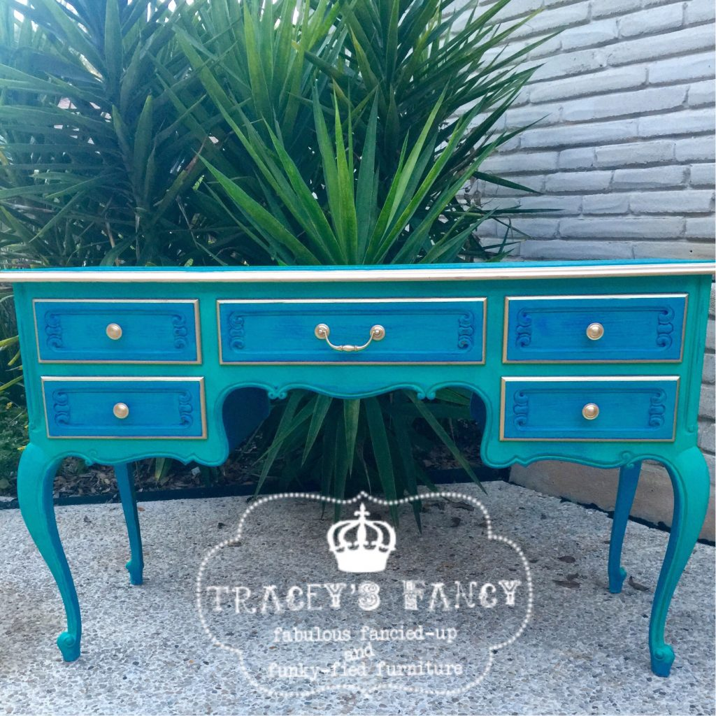 Layered Paint Furniture   Traceys Fancy