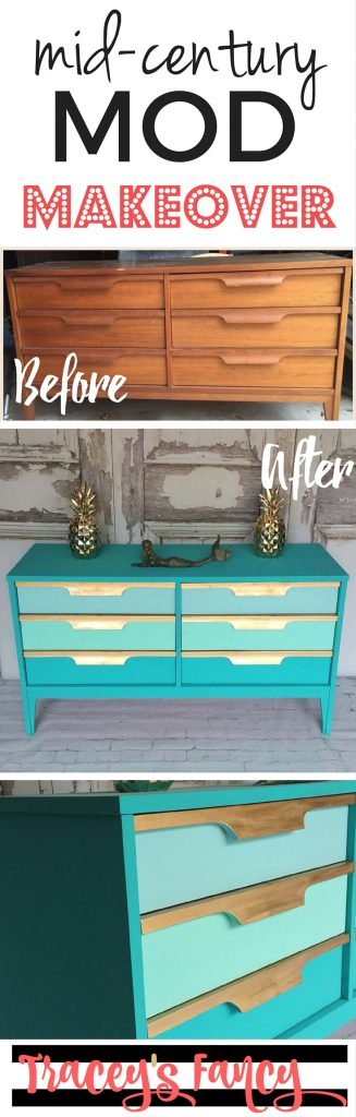 Gold Amp Teal Dresser Perfect For Storing Your Mermaid Tails