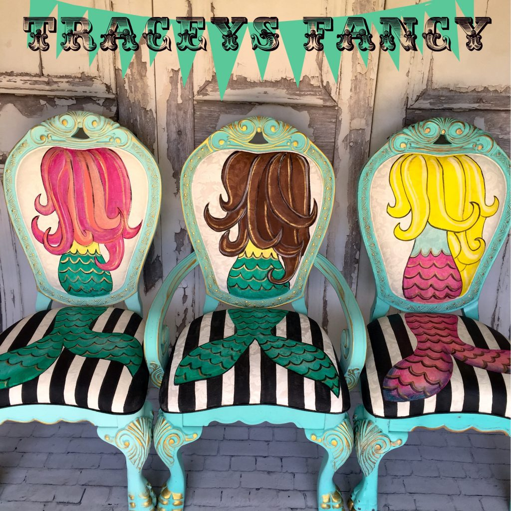 Tracey's Mermaid Chairs