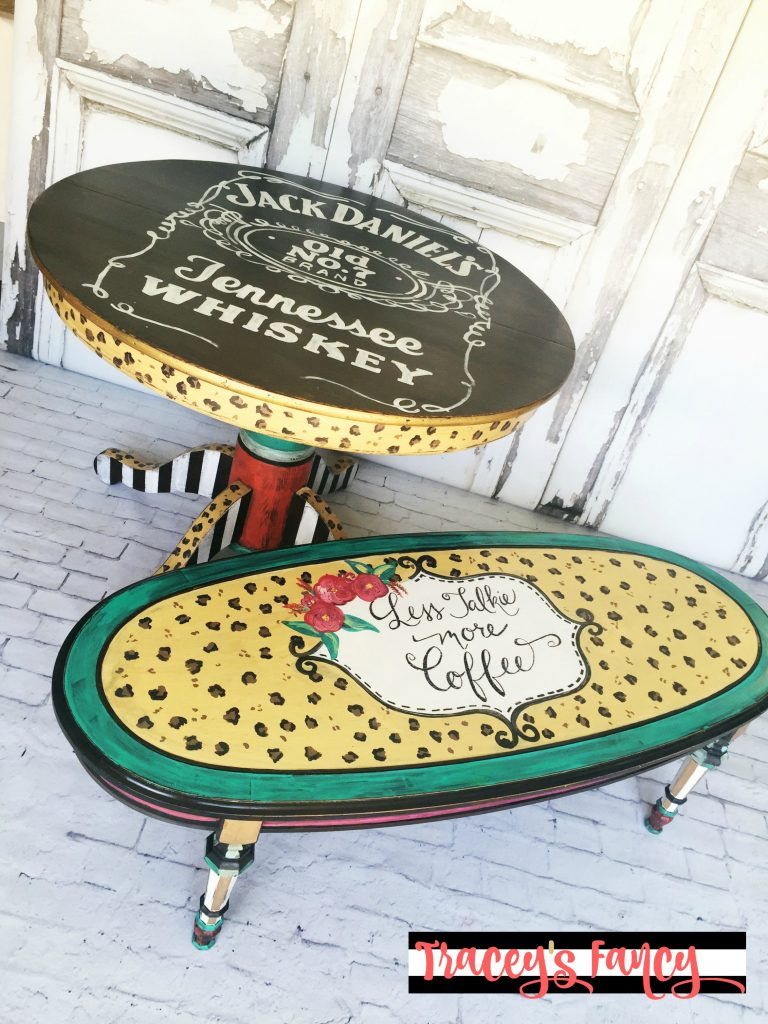 Jack & Coffee Funky Art Furniture | Tracey's Fancy