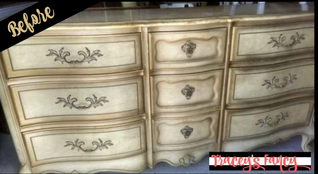 Silver Dresser Before | Tracey's Fancy