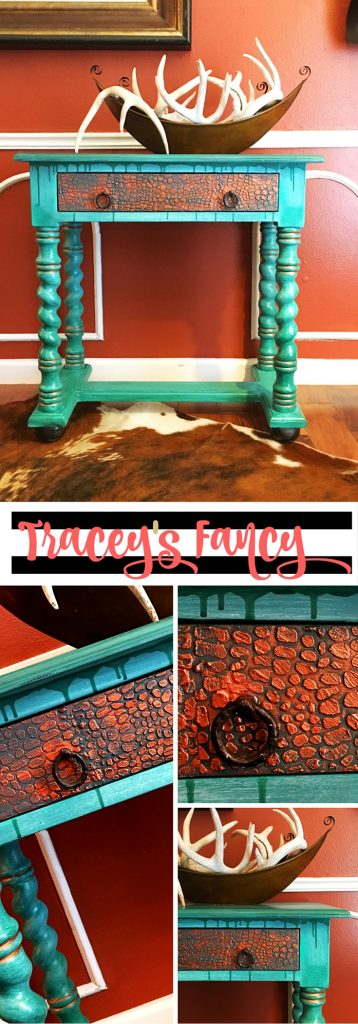 Copper Crocodile Finish | Tracey's Fancy