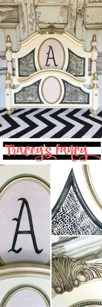 A Painted Bed for a Queen | Tracey's Fancy