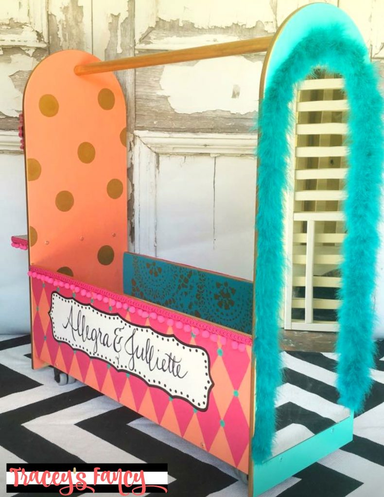 Girls Dress Up Cart / Closet | Tracey's Fancy