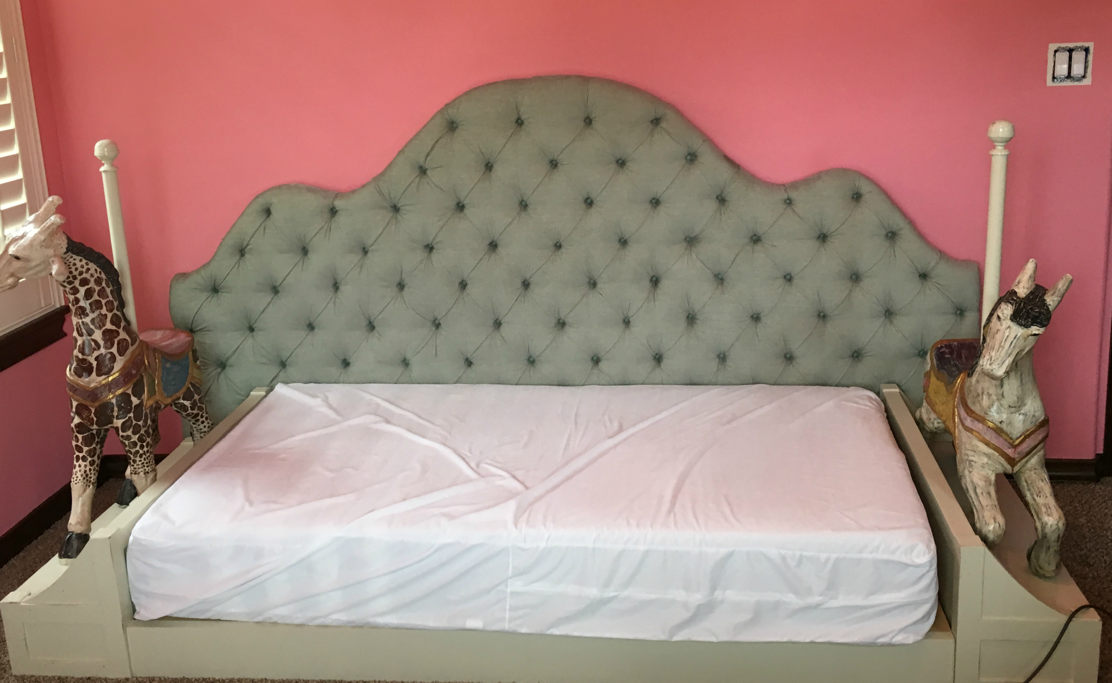 Bed to go with Whimsy Vanity Dresser