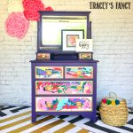 Purple Passion Dresser by Tracey's Fancy