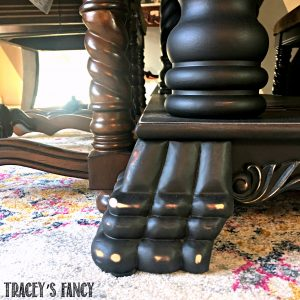 Traceys Fancy Dining Room Makeover - Table + Rug