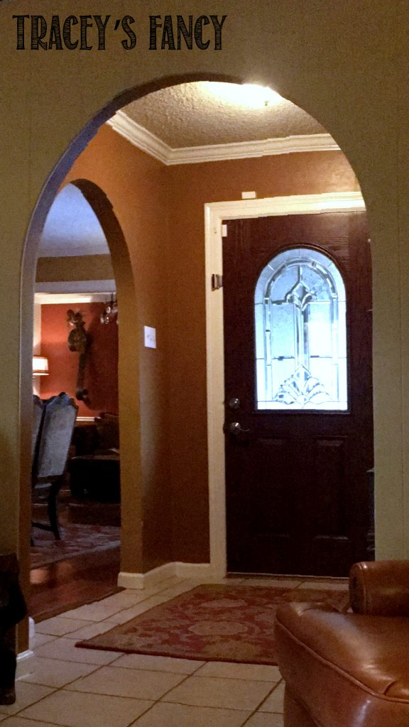 Entry Way Makeover by Tracey's Fancy