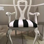 Black and White Glazed Chair Tracey's Fancy