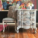 Gray Marble Color Pour Furniture Tracey's Fancy