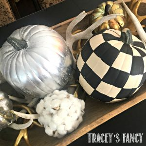 Upscale Farmhouse Painted Pumpkins - Tracey's Fancy