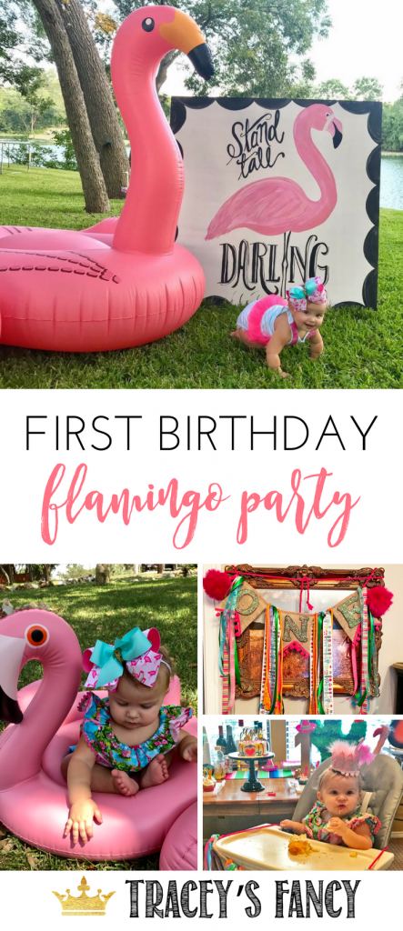 Flamingo Party Decor Ideas by Tracey's Fancy - Planning a Flamingle | Party Themes | First Birthday