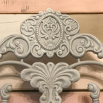 Painted Iron Bed-Tracey's Fancy