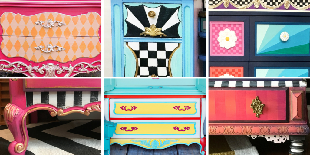 My Favorite BRIGHT & Colorful Whimsical Furniture