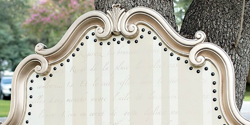 My {Most Requested} Painted Whimsical Headboard