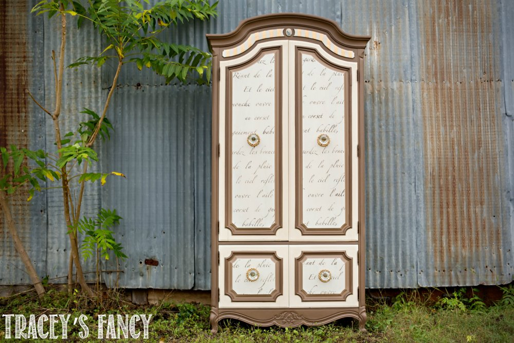 Whimsical Painted Furniture by Tracey's Fancy