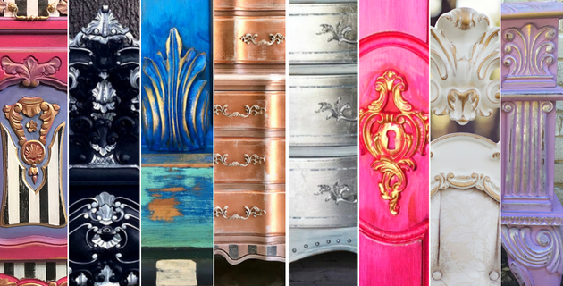 Learn to Paint Whimsical Furniture with Tracey Bellion