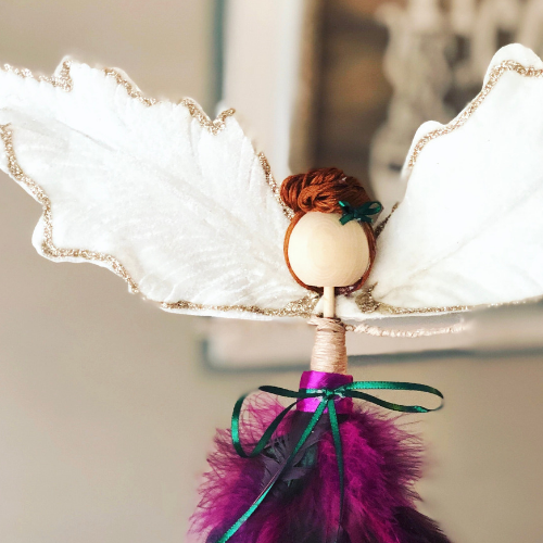 Festive Fancy DIY Angel Ornament