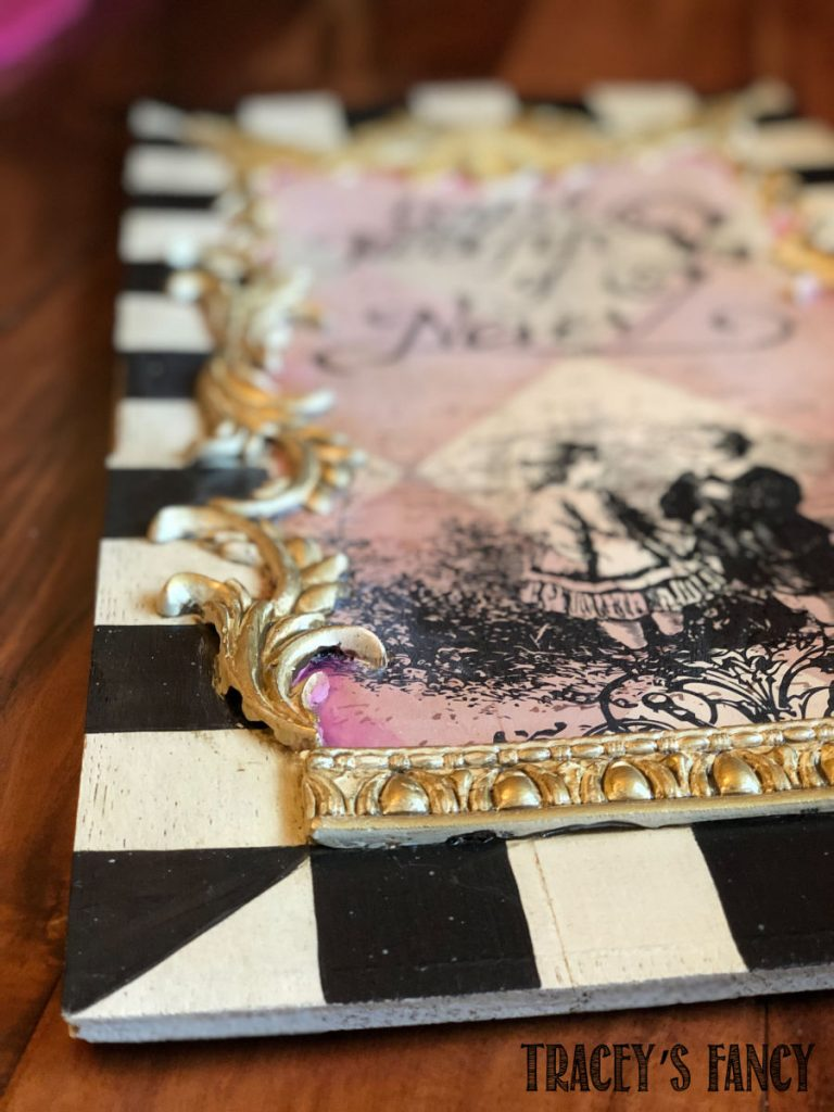 Whimsical salvage art by Traceys Fancy