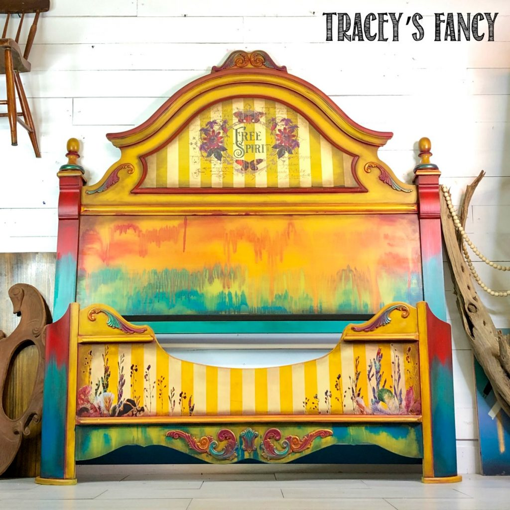 Yellow Boho Gypsy Bed by Tracey's Fancy