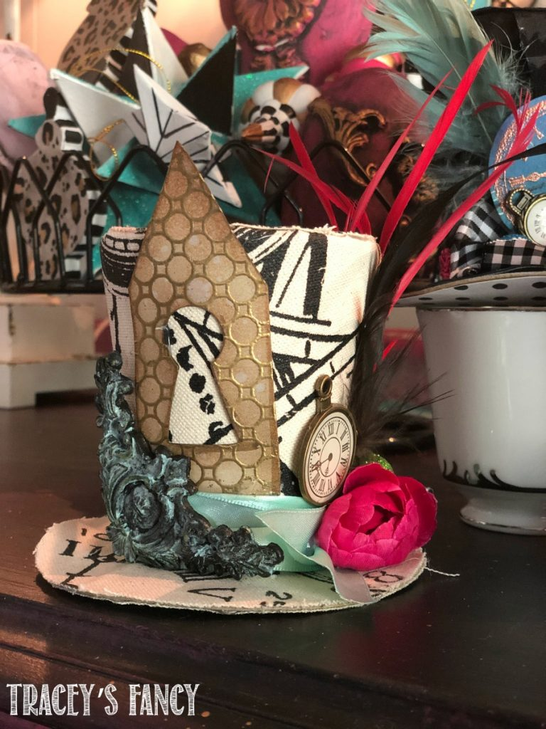 DIY Whimsical Top Hats by Tracey's Fancy