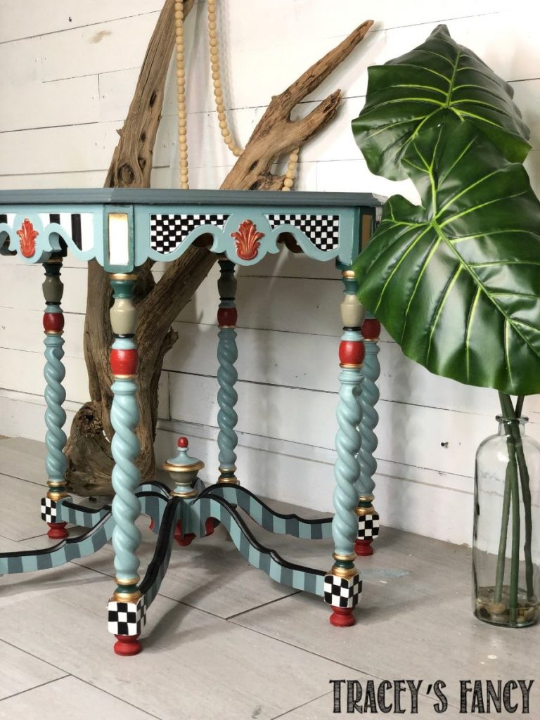 Whimsical Painted Heirloom by Traceys Fancy