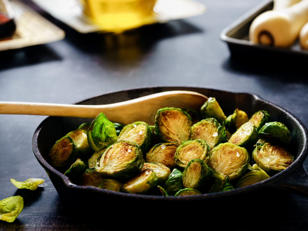 brussel sprouts nutrient | FitFiftyandFearless.com by Tracey Bellion
