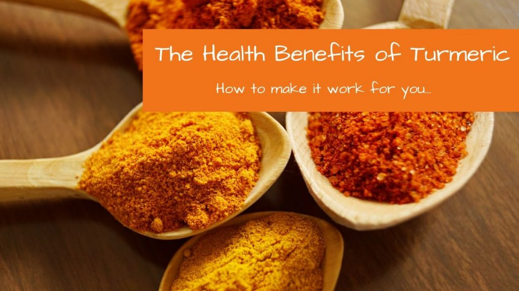health benefits of turmeric | Tracey Bellion | FitFiftyandFearless.com
