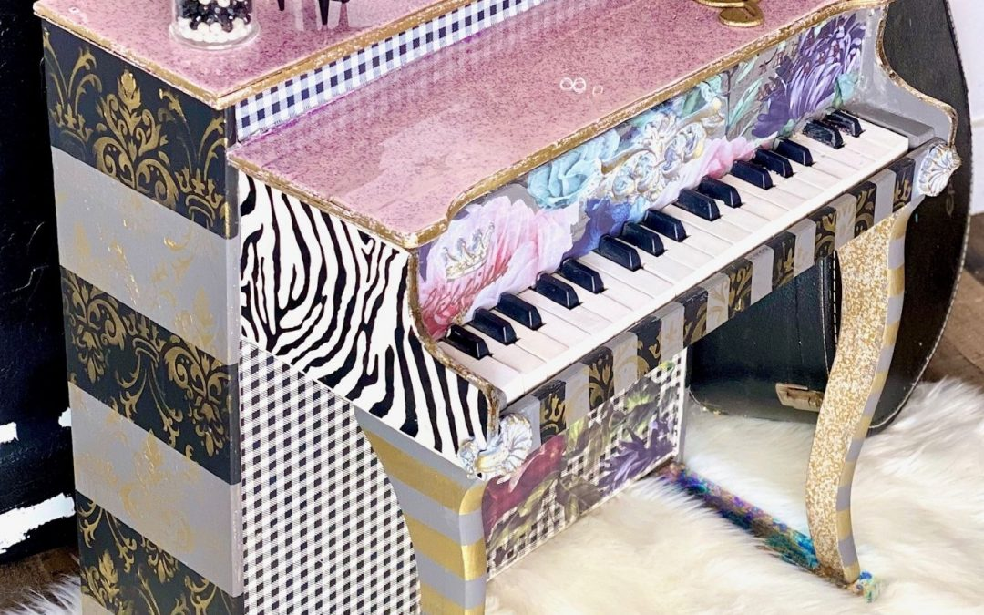 Fun mini whimsical piano with a heartbreaking story