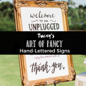 Art of Fancy Hand Lettered Signs