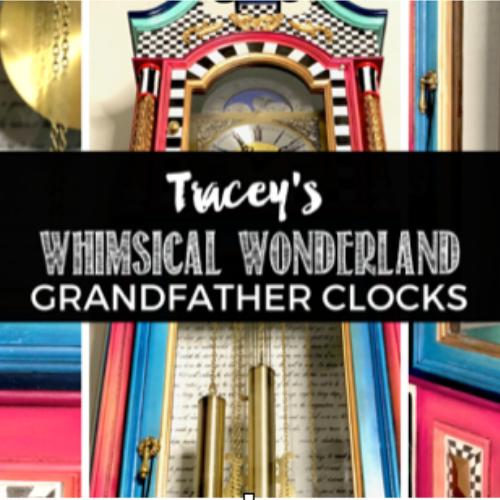 Tracey's Fancy Grandfather Clock Tutorial