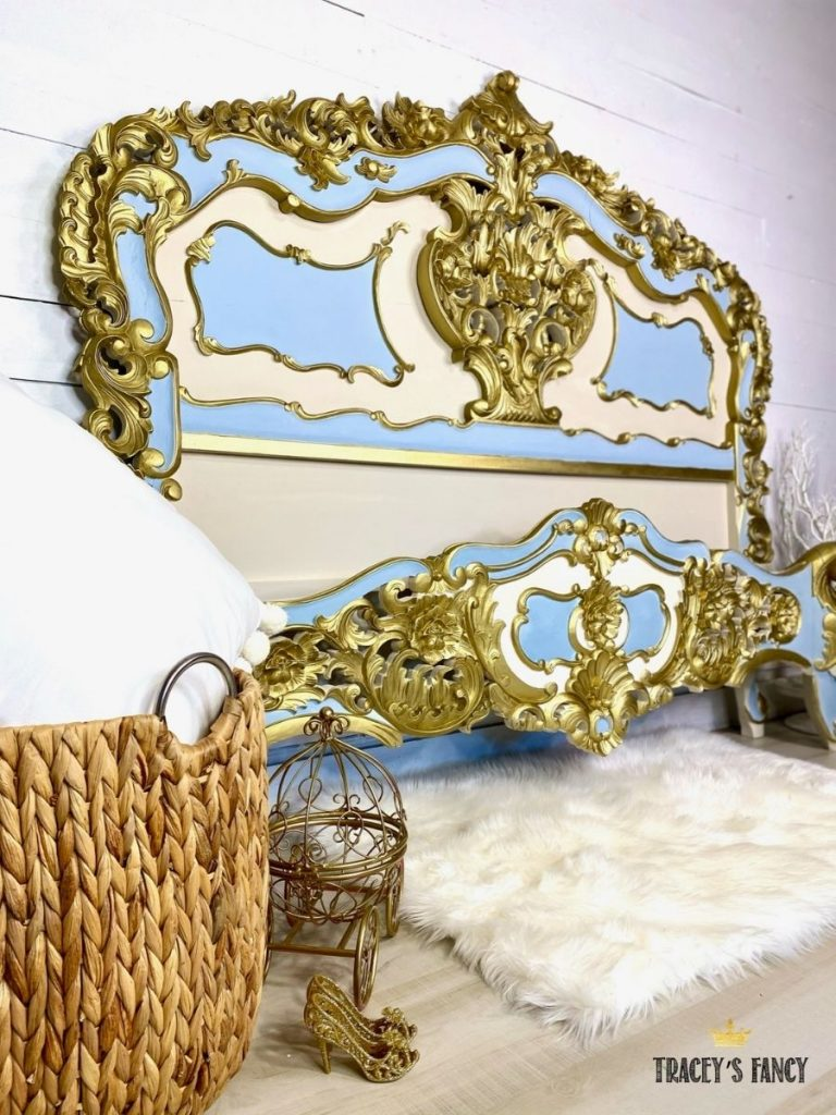 French Rococo Cinderella Bed by Tracey's Fancy